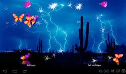 3D Lightning Storm Live Wallpapers screenshot 5/5