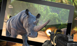 Wild Dino VS Deadly Hunter 3D screenshot 2/5