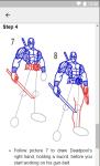 How to Draw Deadpool screenshot 2/6