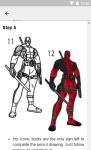 How to Draw Deadpool screenshot 3/6