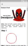 How to Draw Deadpool screenshot 4/6