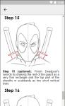 How to Draw Deadpool screenshot 5/6
