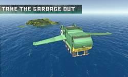 Flying Garbage Truck Simulator screenshot 4/4