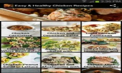 Easy Healthy Chicken Recipes screenshot 1/6
