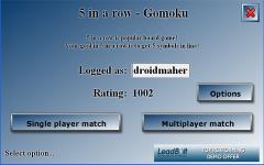 5 in a row - Gomoku screenshot 1/4