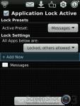 Lock for Messages screenshot 2/3