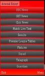 Football Live Arsena screenshot 1/1