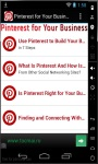 Pinterest For Your Business screenshot 1/3