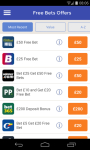 Free Bets UK Bookmaker Betting Offers and Tips screenshot 1/5