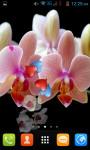 Orchid Live Wallpaper Best screenshot 2/4