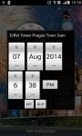 Eiffel Tower Prague Saint Basil  alarm Clock screenshot 4/4