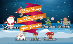 Skinny Santa Run  Jump over Monster to Rescue Gift screenshot 3/6