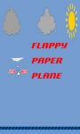 Flappy Paper Plane HD screenshot 1/3