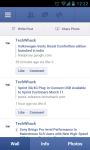 Facebook for Nokia screenshot 1/6