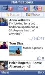 Facebook for Nokia screenshot 2/6