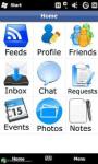 Facebook for Nokia screenshot 3/6