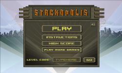 Stackopolis game screenshot 1/4