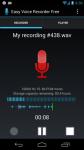 Easy Voice Recorder screenshot 1/5