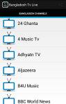 Free Bangladesh Tv Live screenshot 2/5