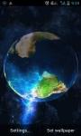 Earth Storm Live Wallpaper screenshot 1/3
