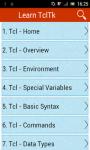 Learn Tcl_Tk screenshot 1/3