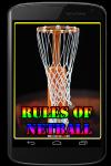 Rules of Netball screenshot 1/3
