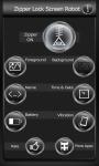 Zipper Lock Screen Robot screenshot 2/6