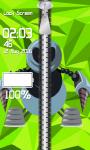 Zipper Lock Screen Robot screenshot 4/6