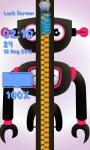 Zipper Lock Screen Robot screenshot 6/6
