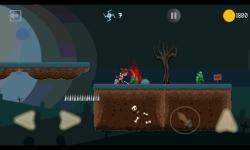 Ninja Knight VS Demons : Sword Fighting Platformer screenshot 1/4