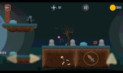 Ninja Knight VS Demons : Sword Fighting Platformer screenshot 3/4