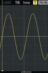 Oscilloscope screenshot 1/1