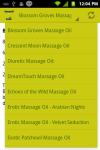Massage Oil Recipes screenshot 3/3