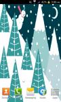 Snowman Animated Live Wallpaper screenshot 1/4