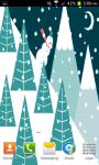 Snowman Animated Live Wallpaper screenshot 2/4