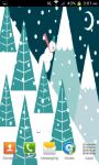 Snowman Animated Live Wallpaper screenshot 3/4