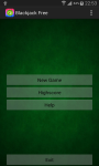 Classic Blackjack Free screenshot 3/3