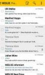 WEB DE Mail screenshot 1/4