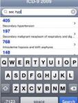 iICD9 2009 screenshot 1/1