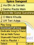 Spice Sangeet screenshot 1/1