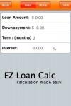 EZ Loan Calc - Loan Calculator screenshot 1/1