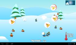 SnowBall Fight Winter Game HD screenshot 3/4