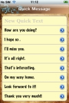Quick Message Pro screenshot 1/1