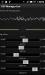 DSP Manager screenshot 1/2