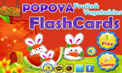 POPOYA Fruits Flashcards screenshot 1/5