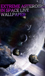 Extreme Asteroids in Space LWP free screenshot 3/3