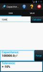 Capacitor Calculator screenshot 1/6