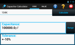 Capacitor Calculator screenshot 5/6