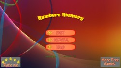 Numbers Memory screenshot 1/4