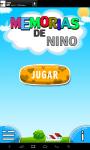 Kids memory fruit-spanish screenshot 1/6